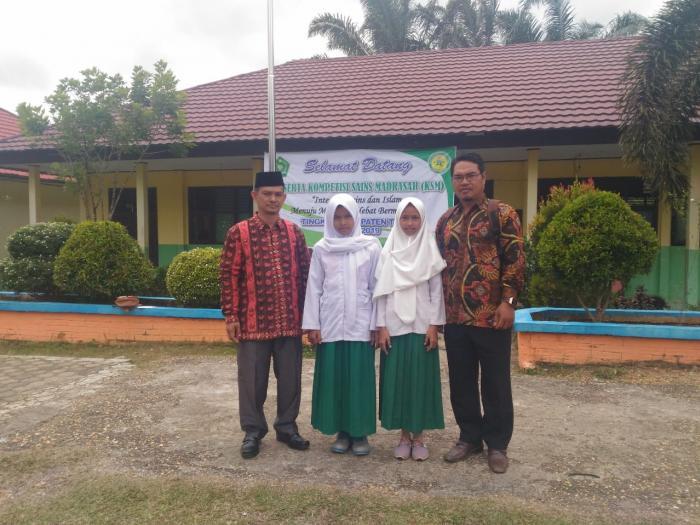 MIN 5 TEBO mengikuti Kompetisi Sains Madrasah Tk Kabupaten Tebo 2019